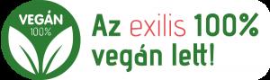 Az exilis vegán lett.